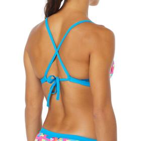 TYR W's Le Reve Trinity Bikini Top Durafast One Pink/Turquoise